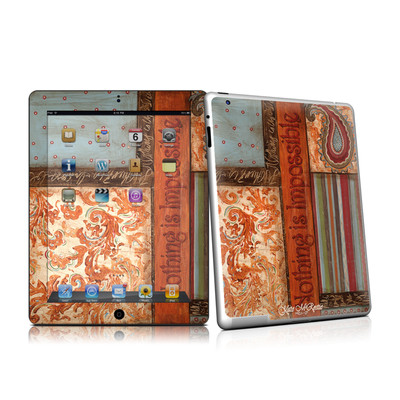iPad 2 Skin - Be Inspired