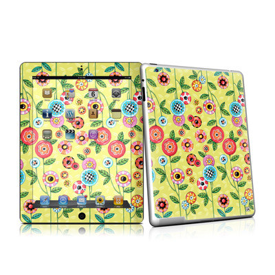 iPad 2 Skin - Button Flowers