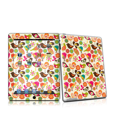 iPad 2 Skin - Bird Flowers