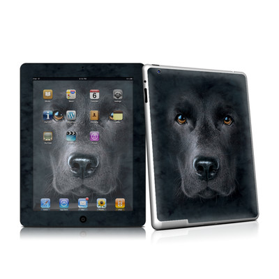 iPad 2 Skin - Black Lab