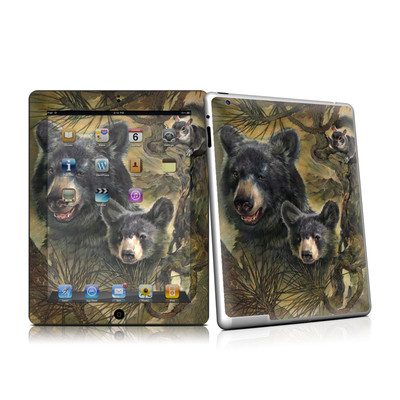 iPad 2 Skin - Black Bears