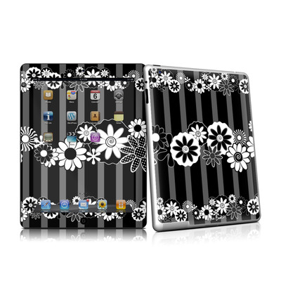 iPad 2 Skin - Black Retro