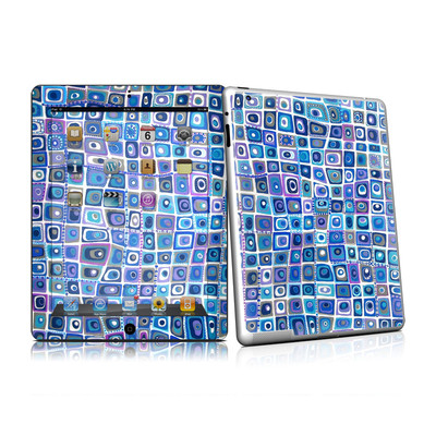 iPad 2 Skin - Blue Monday