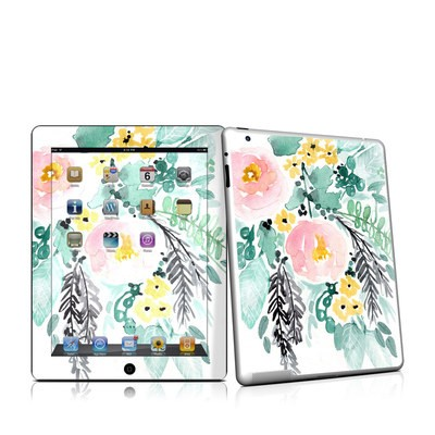 iPad 2 Skin - Blushed Flowers