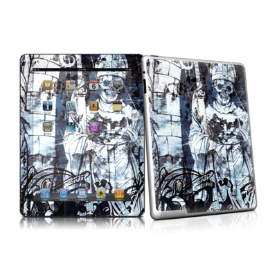iPad 2 Skin - Black Mass