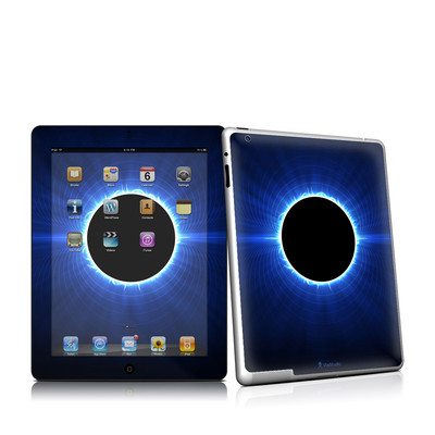 iPad 2 Skin - Blue Star Eclipse