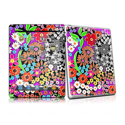 iPad 2 Skin - A Burst of Color