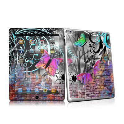 iPad 2 Skin - Butterfly Wall