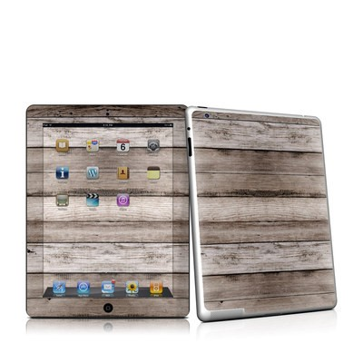 iPad 2 Skin - Barn Wood