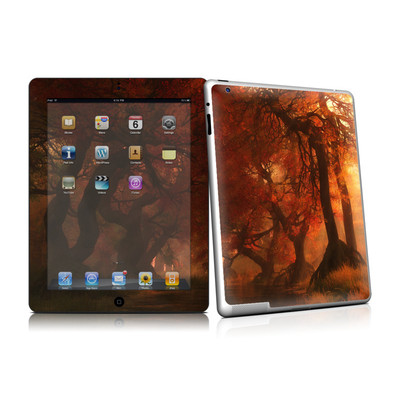 iPad 2 Skin - Canopy Creek Autumn