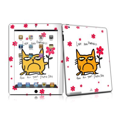 iPad 2 Skin - Catwad Happy