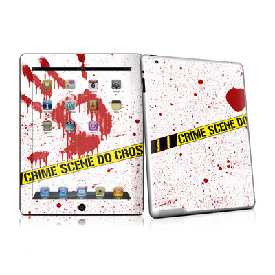 iPad 2 Skin - Crime Scene Revisited