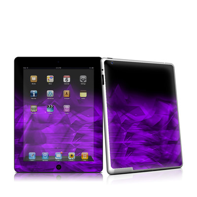 iPad 2 Skin - Dark Amethyst Crystal
