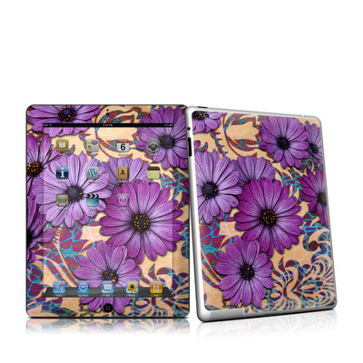 iPad 2 Skin - Daisy Damask