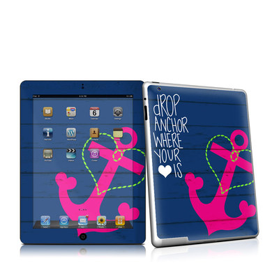 iPad 2 Skin - Drop Anchor