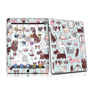 iPad 2 Skin - Doggy Boudoir