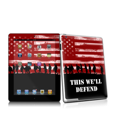 iPad 2 Skin - Defend