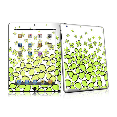 iPad 2 Skin - Daisy Field - Green