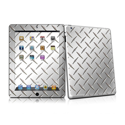 iPad 2 Skin - Diamond Plate