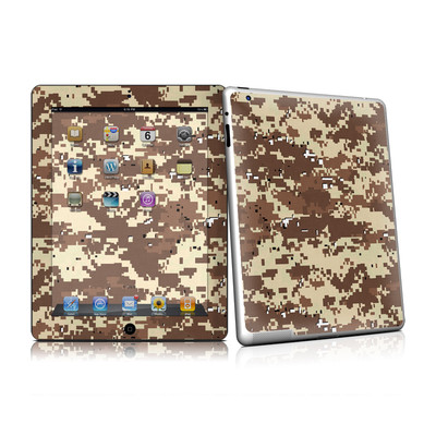 iPad 2 Skin - Digital Desert Camo