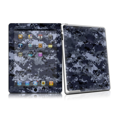 iPad 2 Skin - Digital Navy Camo