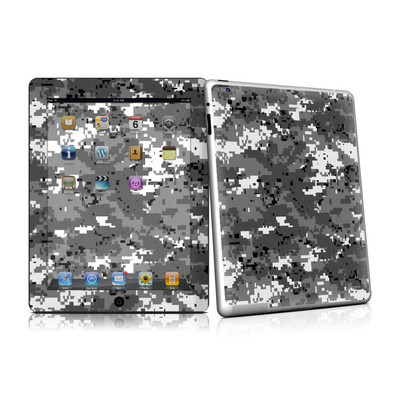 iPad 2 Skin - Digital Urban Camo