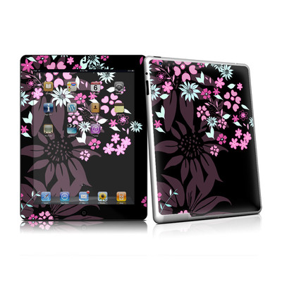 iPad 2 Skin - Dark Flowers