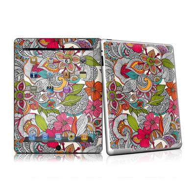 iPad 2 Skin - Doodles Color