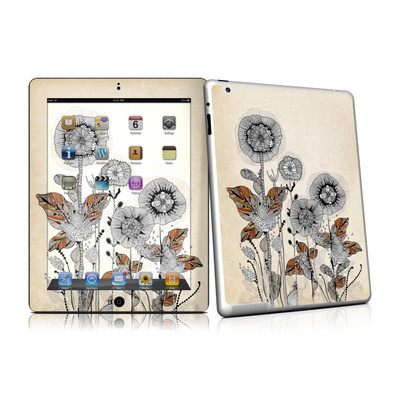 iPad 2 Skin - Four Flowers