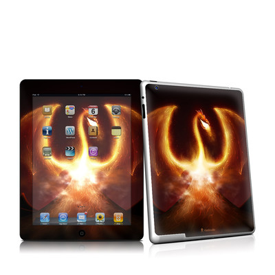 iPad 2 Skin - Fire Dragon