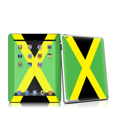 iPad 2 Skin - Jamaican Flag