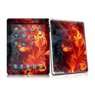 iPad 2 Skin - Flower Of Fire