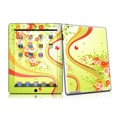 iPad 2 Skin - Flower Splash