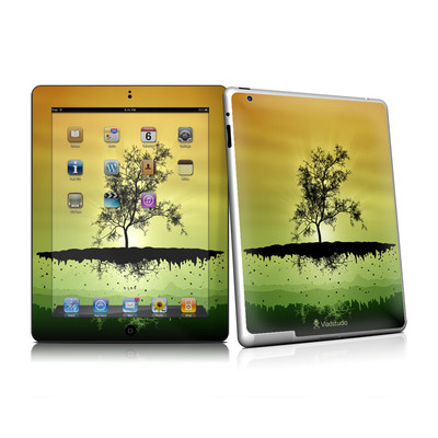 iPad 2 Skin - Flying Tree Amber