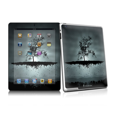 iPad 2 Skin - Flying Tree Black