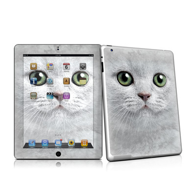 iPad 2 Skin - Grey Kitty