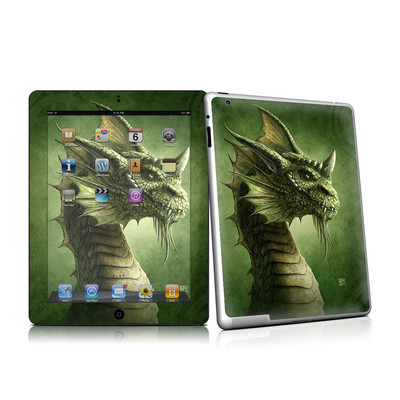 iPad 2 Skin - Green Dragon