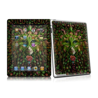 iPad 2 Skin - Green Woman