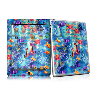 iPad 2 Skin - Harlequin Seascape
