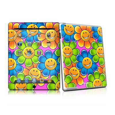 iPad 2 Skin - Happy Daisies
