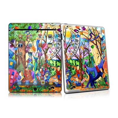 iPad 2 Skin - Happy Town Celebration