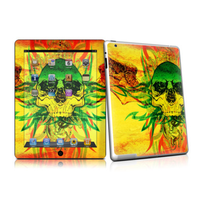 iPad 2 Skin - Hot Tribal Skull