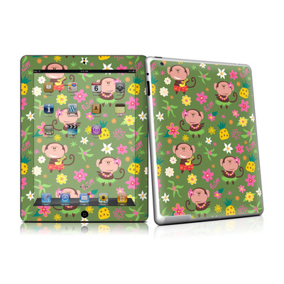 iPad 2 Skin - Hula Monkeys
