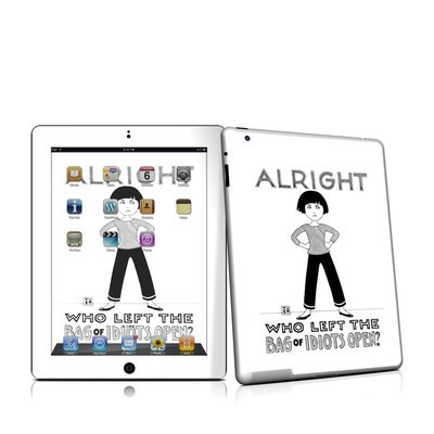 iPad 2 Skin - Bag of Idiots