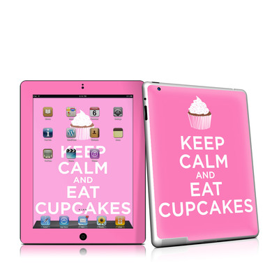 iPad 2 Skin - Keep Calm - Cupcakes