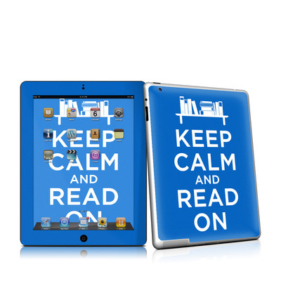 iPad 2 Skin - Keep Calm - Read