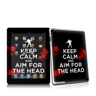iPad 2 Skin - Keep Calm - Zombie