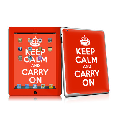 iPad 2 Skin - Keep Calm