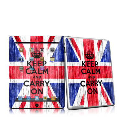 iPad 2 Skin - Keep Calm - Grunge