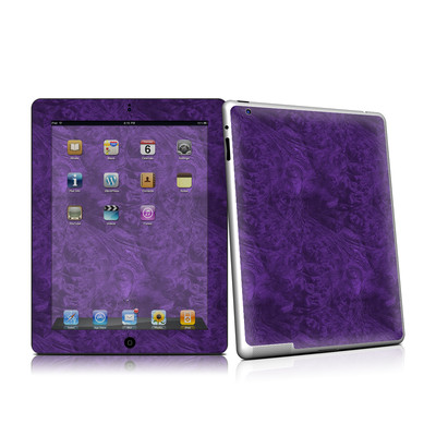 iPad 2 Skin - Purple Lacquer